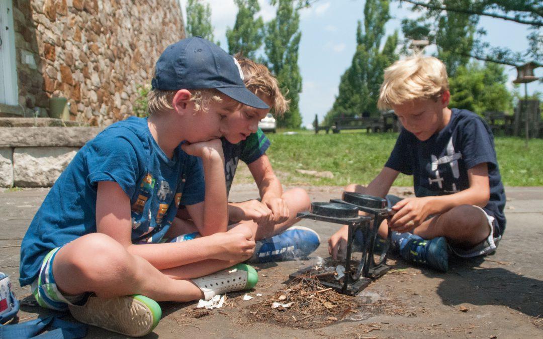Summer Camp – Advanced Survival Techniques – NEW!
