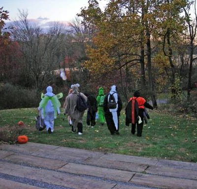 Characters for the haunted trail walk